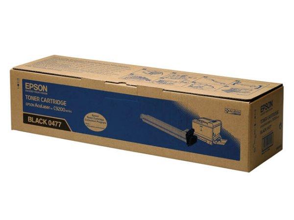 Original Epson C13S050477 Toner Black