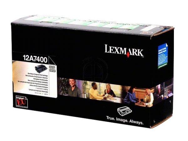 Original Lexmark 12A7400 Toner Black