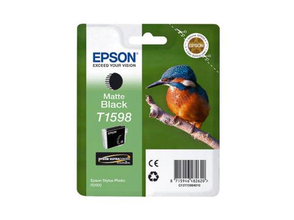 Original Epson C13T15984010 / T1598 Tinte Black (Matt)