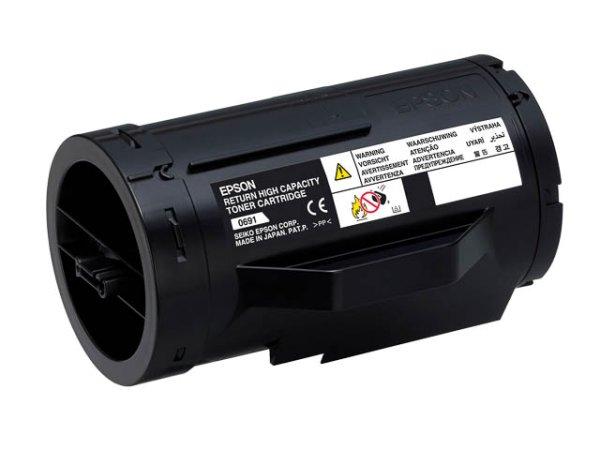 Original Epson C13S050691 Toner Black Return