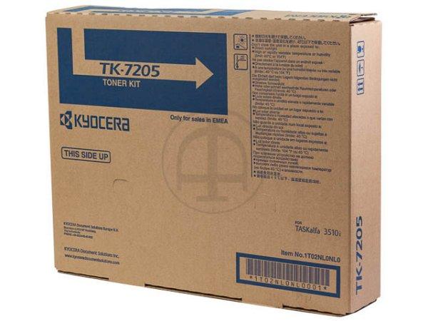 Original Kyocera 1T02NL0NL0 / TK-7205 Toner Black