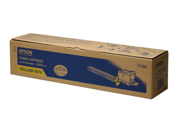 Original Epson C13S050474 Toner Yellow