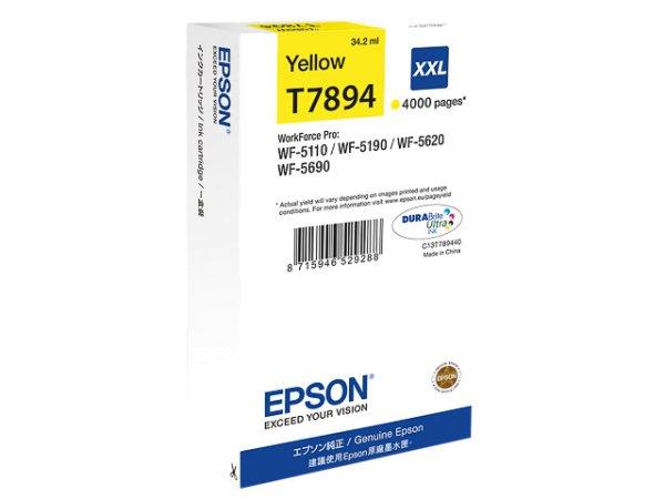 Original Epson C13T789440 / T7894 Tinte Yellow