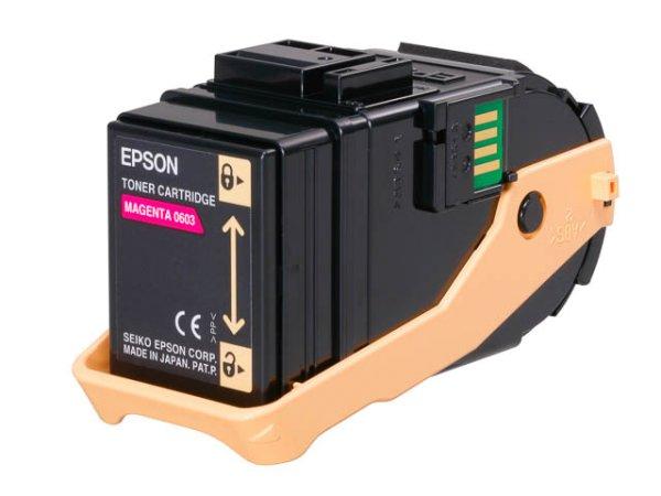 Original Epson C13S050603 Toner Magenta