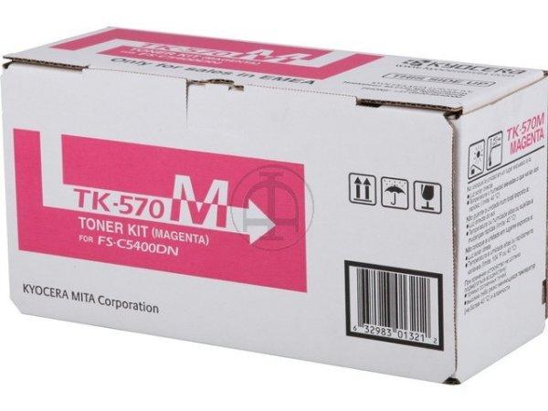Original Kyocera 1T02HGBEU0 / TK-570M Toner Magenta