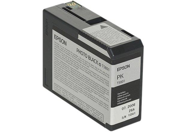 Original Epson C13T580100 / T5801 Tinte Black