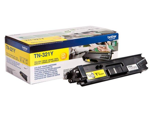 Original Brother TN-321Y Toner Yellow