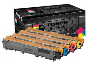 Premium ★ Brother TN-242 / 246 Toner Kompatibel ★ Rainbowkit B/C/M/Y