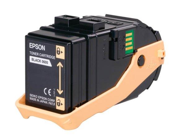 Original Epson C13S050605 Toner Black