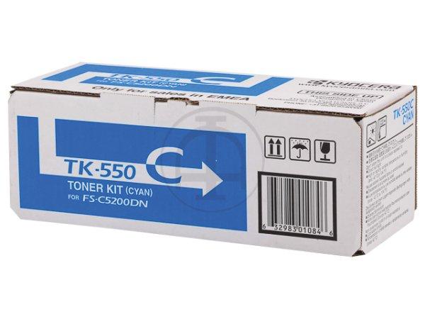 Original Kyocera 1T02HMCEU0 / TK-550C Toner Cyan