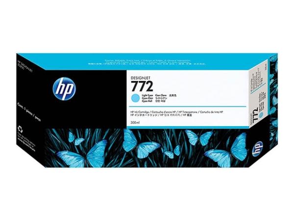 Original HP CN632A / Nr. 772 Tinte Cyan (Light)