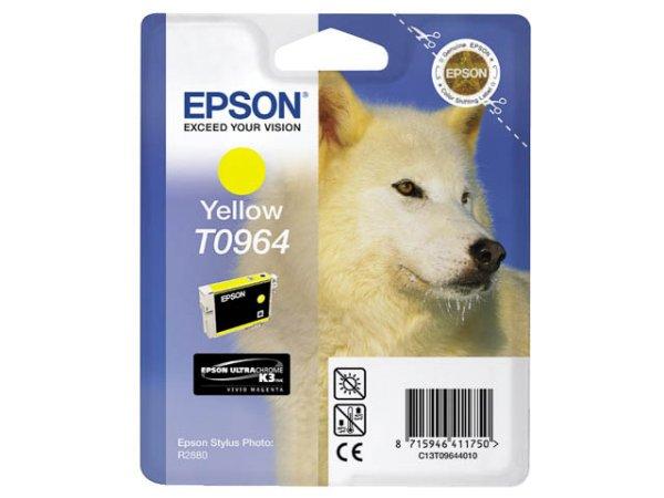 Original Epson C13T09644010 / T0964 Tinte Yellow