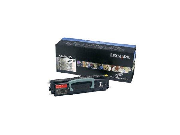 Original Lexmark X340A21G Toner Black