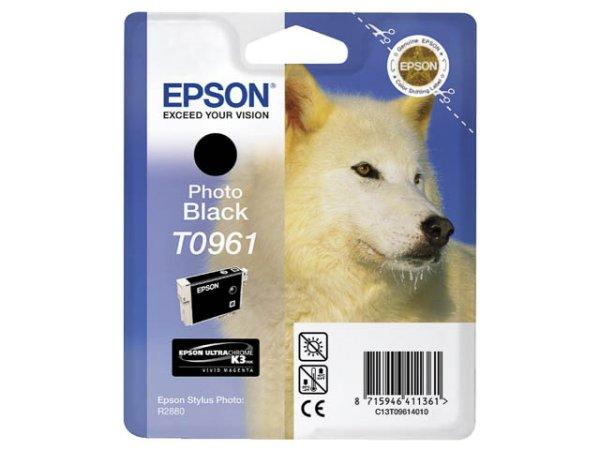 Original Epson C13T09614010 / T0961 Tinte Black