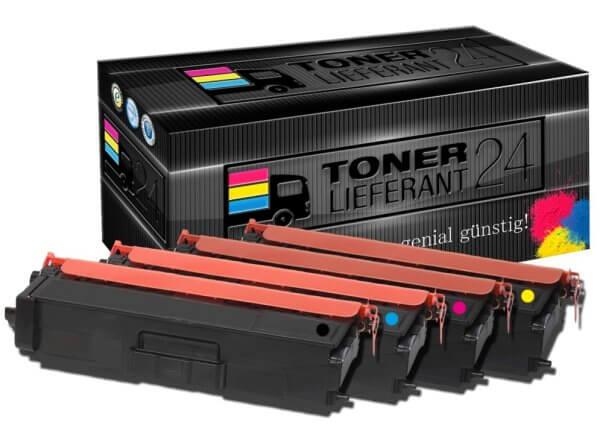 Kompatibel zu Brother TN-900 Toner Rainbowkit B/C/M/Y