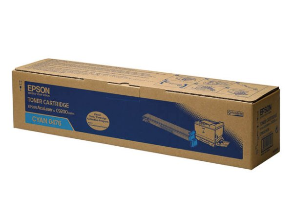 Original Epson C13S050476 Toner Cyan