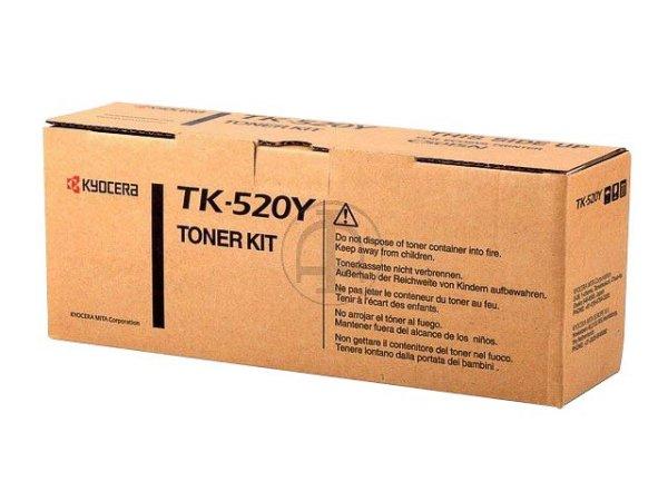 Original Kyocera 1T02HJAEU0 / TK-520Y Toner Yellow
