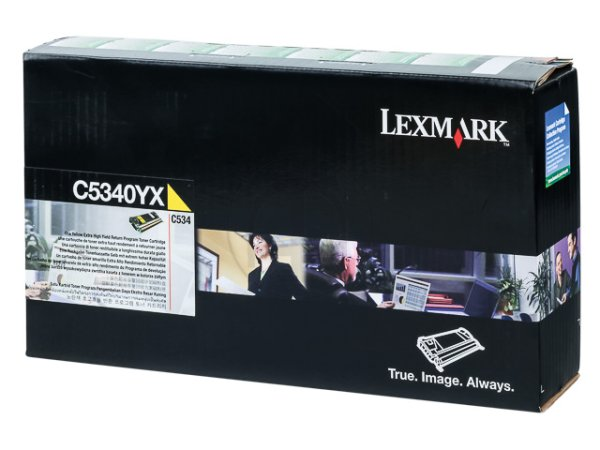 Original Lexmark C5340YX Toner Yellow