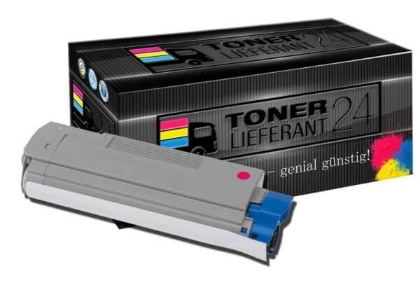 Kompatibel zu OKI 43324422 Toner Magenta XXL