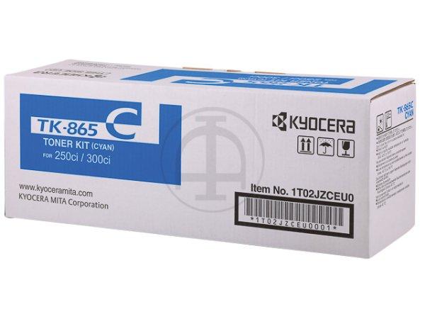 Original Kyocera 1T02JZCEU0 / TK-865C Toner Cyan