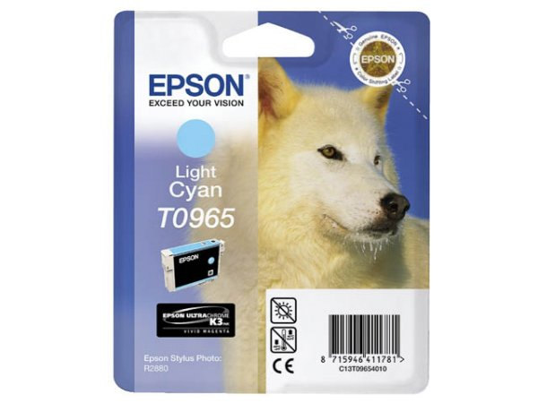 Original Epson C13T09654010 / T0965 Tinte Cyan (Light)