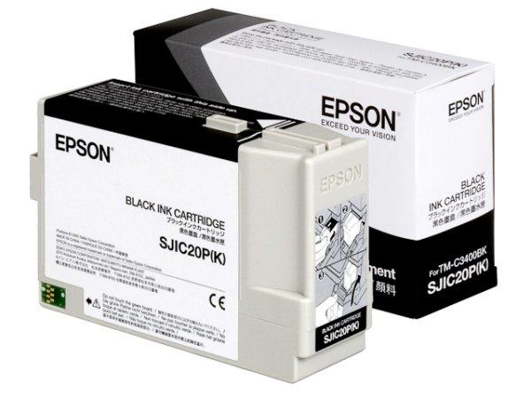 Original Epson C33S020490 / SJIC20P Tinte Black