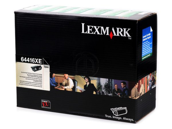 Original Lexmark 64416XE Toner Black Return