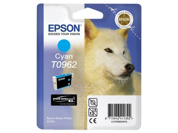 Original Epson C13T09624010 / T0962 Tinte Cyan