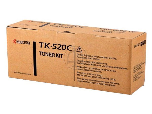 Original Kyocera 1T02HJCEU0 / TK-520C Toner Cyan