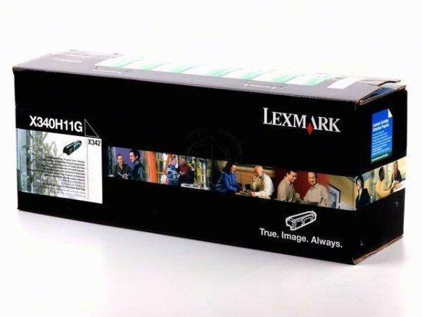 Original Lexmark X340H11G Toner Black Return