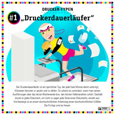 infografik-mitarbeitertypen-drucker-dauerlaeufer-buero-charakter