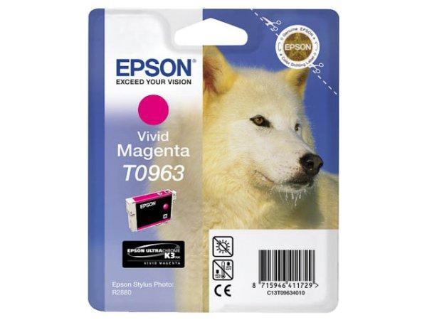 Original Epson C13T09634010 / T0963 Tinte Magenta