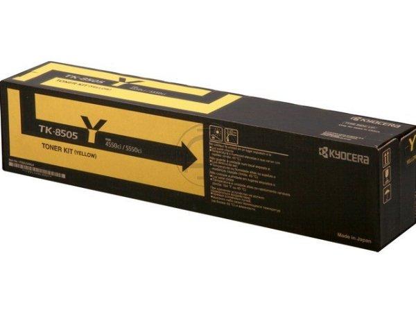 Original Kyocera 1T02LCANL0 / TK-8505Y Toner Yellow