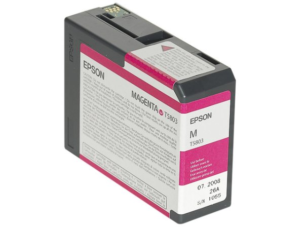 Original Epson C13T580300 / T5803 Tinte Magenta