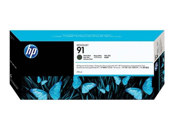 Original HP C9464A / Nr. 91 Tinte Black Matt