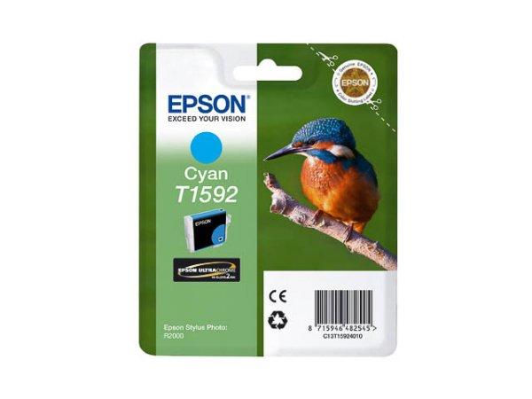 Original Epson C13T15924010 / T1592 Tinte Cyan