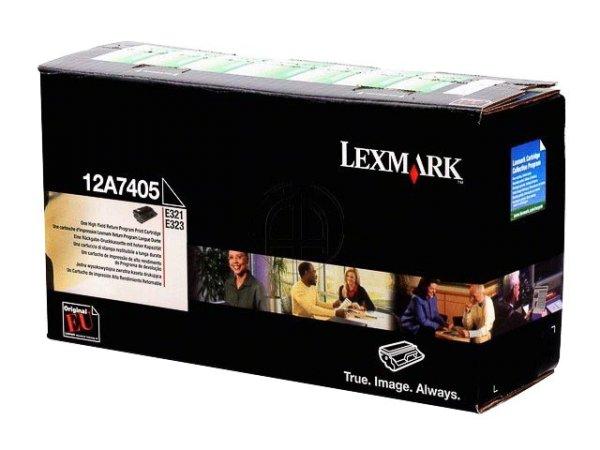 Original Lexmark 12A7405 Toner Black