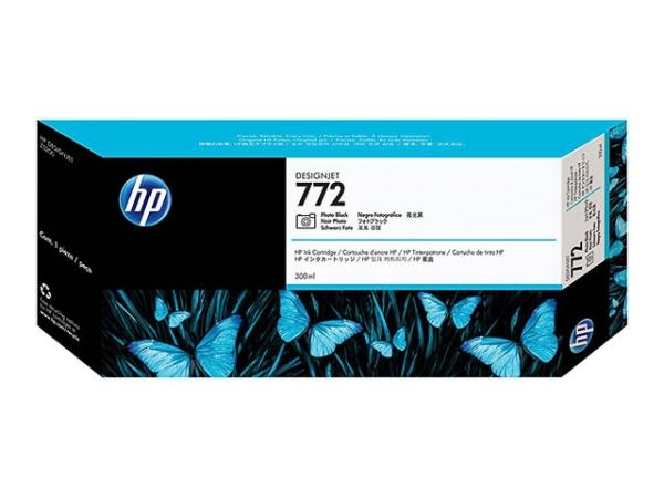 Original HP CN633A / Nr. 772 Tinte Black (Light)