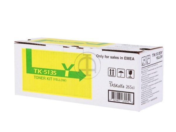 Original Kyocera 1T02PAANL0 / TK-5135Y Toner Yellow