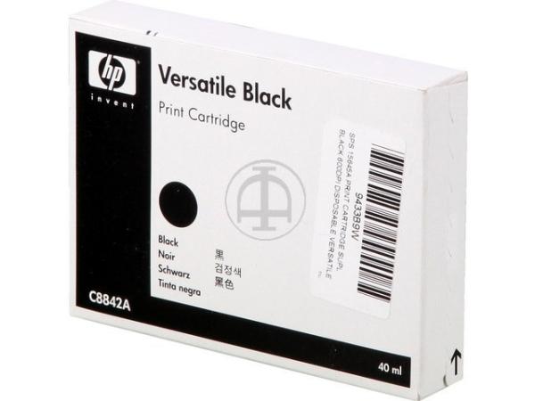 Original HP C8842A Tinte Black