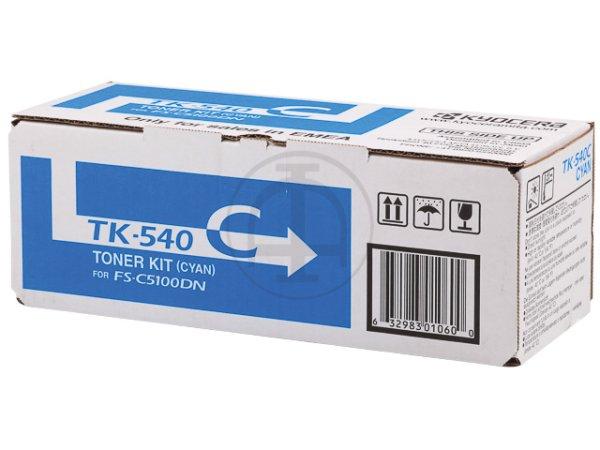 Original Kyocera 1T02HLCEU0 / TK-540C Toner Cyan
