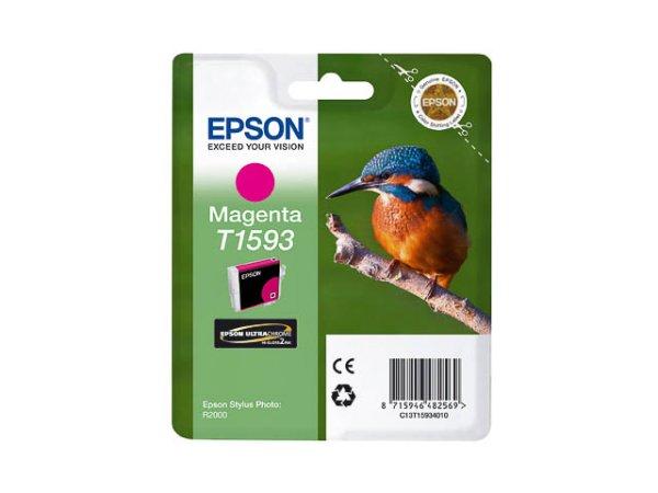 Original Epson C13T15934010 / T1593 Tinte Magenta