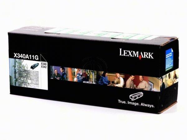Original Lexmark X340A11G Toner Black Return