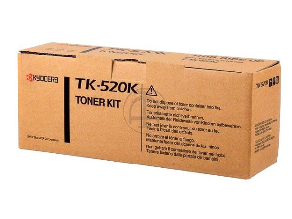 Original Kyocera 1T02HJ0EU0 / TK-520K Toner Black