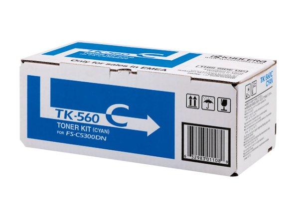 Original Kyocera 1T02HNCEU0 / TK-560C Toner Cyan