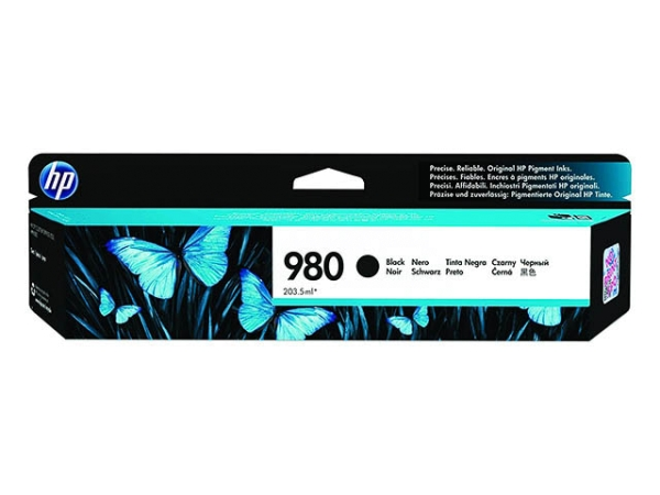Original HP D8J10A / Nr. 980 Tinte Black