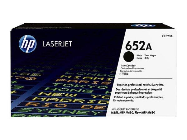 Original HP CF320A / 652A Toner Black