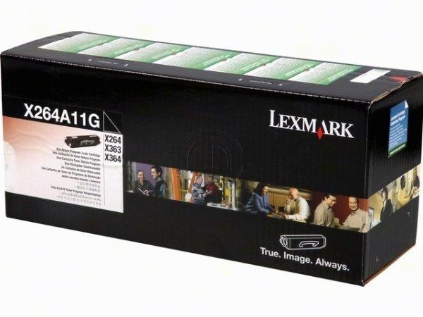 Original Lexmark X264A11G Toner Black