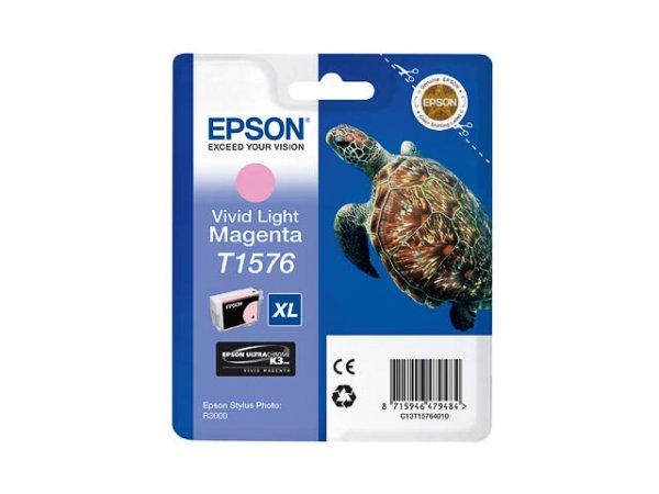 Original Epson C13T15764010 / T1576 Tinte Magenta (Light)