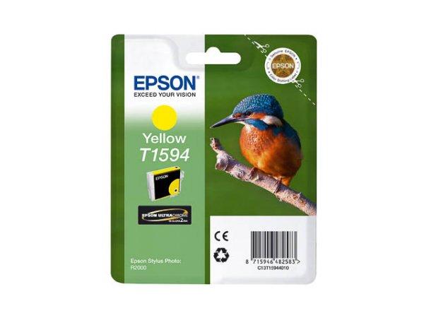 Original Epson C13T15944010 / T1594 Tinte Yellow